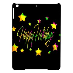 Happy Holidays 4 Ipad Air Hardshell Cases by Valentinaart