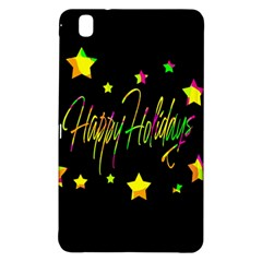 Happy Holidays 4 Samsung Galaxy Tab Pro 8 4 Hardshell Case by Valentinaart
