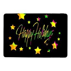 Happy Holidays 4 Samsung Galaxy Tab Pro 10 1  Flip Case by Valentinaart