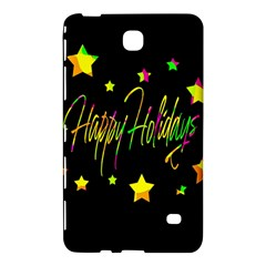 Happy Holidays 4 Samsung Galaxy Tab 4 (8 ) Hardshell Case  by Valentinaart