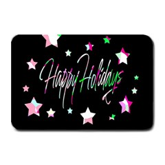 Happy Holidays 5 Plate Mats by Valentinaart