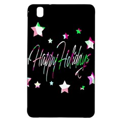 Happy Holidays 5 Samsung Galaxy Tab Pro 8 4 Hardshell Case by Valentinaart