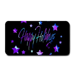 Happy Holidays 6 Medium Bar Mats by Valentinaart