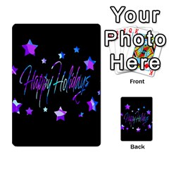 Happy Holidays 6 Multi Purpose Cards (rectangle)  by Valentinaart