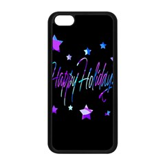 Happy Holidays 6 Apple Iphone 5c Seamless Case (black) by Valentinaart
