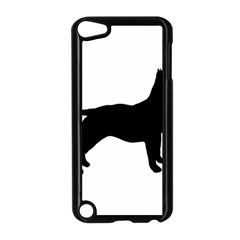 Bull Terrier Silo Black Apple Ipod Touch 5 Case (black) by TailWags