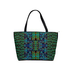 A Bird I Am From Paradise Shoulder Handbags by pepitasart