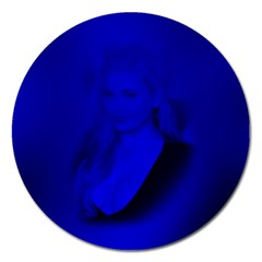 Magnet 5  (round) (abigail Breslin) by awesomegraphics