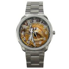 Dragon Slayer Sport Metal Watch by icarusismartdesigns
