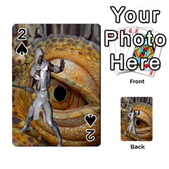 Dragon Slayer Playing Cards 54 Designs  by icarusismartdesigns