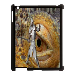 Dragon Slayer Apple Ipad 3/4 Case (black) by icarusismartdesigns