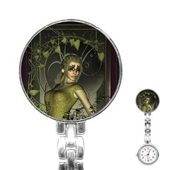 Wonderful Fairy Stainless Steel Nurses Watch by FantasyWorld7