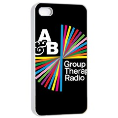 Above & Beyond  Group Therapy Radio Apple Iphone 4/4s Seamless Case (white) by Onesevenart