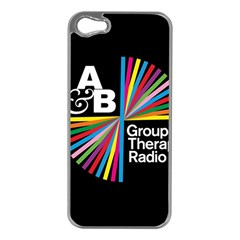 Above & Beyond  Group Therapy Radio Apple Iphone 5 Case (silver) by Onesevenart