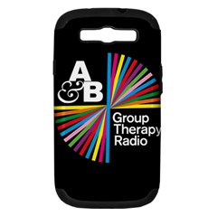 Above & Beyond  Group Therapy Radio Samsung Galaxy S Iii Hardshell Case (pc+silicone) by Onesevenart