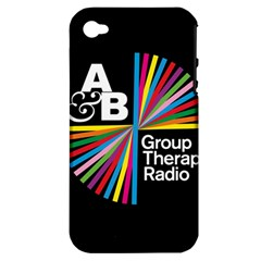 Above & Beyond  Group Therapy Radio Apple Iphone 4/4s Hardshell Case (pc+silicone) by Onesevenart