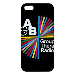 Above & Beyond  Group Therapy Radio Apple Iphone 5 Premium Hardshell Case by Onesevenart