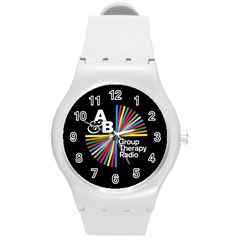 Above & Beyond  Group Therapy Radio Round Plastic Sport Watch (m) by Onesevenart