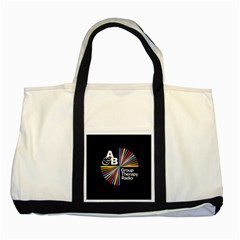 Above & Beyond  Group Therapy Radio Two Tone Tote Bag by Onesevenart