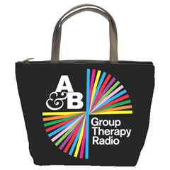 Above & Beyond  Group Therapy Radio Bucket Bags by Onesevenart