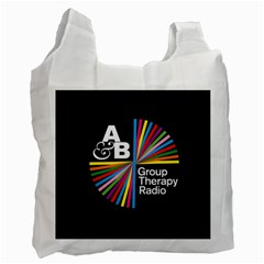 Above & Beyond  Group Therapy Radio Recycle Bag (one Side) by Onesevenart