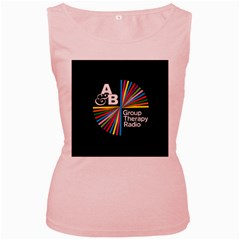 Above & Beyond  Group Therapy Radio Women s Pink Tank Top by Onesevenart