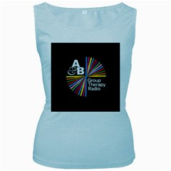 Above & Beyond  Group Therapy Radio Women s Baby Blue Tank Top by Onesevenart