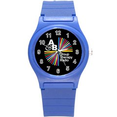 Above & Beyond  Group Therapy Radio Round Plastic Sport Watch (s) by Onesevenart
