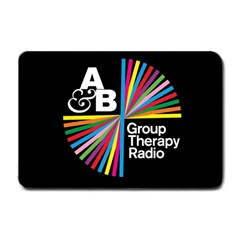 Above & Beyond  Group Therapy Radio Small Doormat  by Onesevenart