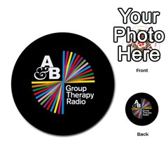 Above & Beyond  Group Therapy Radio Multi Purpose Cards (round)  by Onesevenart
