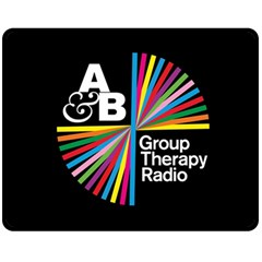 Above & Beyond  Group Therapy Radio Fleece Blanket (medium)  by Onesevenart