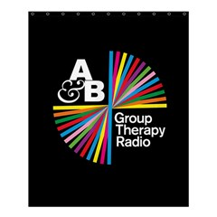 Above & Beyond  Group Therapy Radio Shower Curtain 60  X 72  (medium)  by Onesevenart