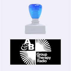 Above & Beyond  Group Therapy Radio Rubber Stamps (medium)  by Onesevenart