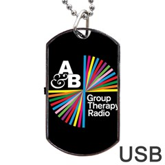 Above & Beyond  Group Therapy Radio Dog Tag Usb Flash (one Side) by Onesevenart