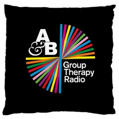 Above & Beyond  Group Therapy Radio Large Cushion Case (one Side) by Onesevenart