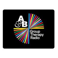 Above & Beyond  Group Therapy Radio Double Sided Fleece Blanket (small)  by Onesevenart