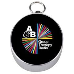 Above & Beyond  Group Therapy Radio Silver Compasses by Onesevenart