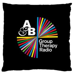 Above & Beyond  Group Therapy Radio Large Flano Cushion Case (two Sides) by Onesevenart