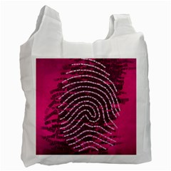 Above & Beyond Sticky Fingers Recycle Bag (two Side)  by Onesevenart