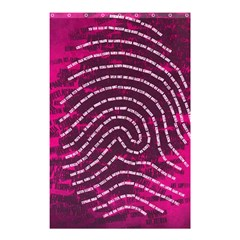 Above & Beyond Sticky Fingers Shower Curtain 48  X 72  (small)  by Onesevenart