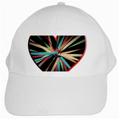 Above & Beyond White Cap by Onesevenart