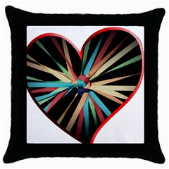 Above & Beyond Throw Pillow Case (black) by Onesevenart