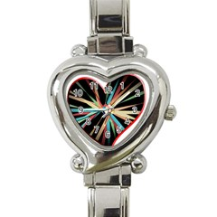 Above & Beyond Heart Italian Charm Watch by Onesevenart
