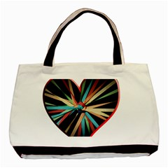 Above & Beyond Basic Tote Bag (two Sides) by Onesevenart