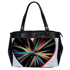 Above & Beyond Office Handbags by Onesevenart