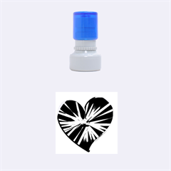 Above & Beyond Rubber Round Stamps (small) by Onesevenart