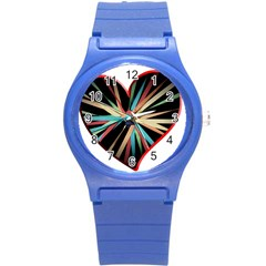 Above & Beyond Round Plastic Sport Watch (s) by Onesevenart
