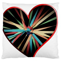 Above & Beyond Large Cushion Case (two Sides) by Onesevenart