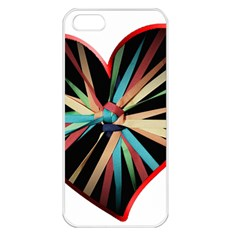 Above & Beyond Apple Iphone 5 Seamless Case (white) by Onesevenart