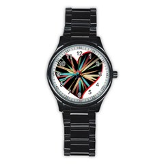 Above & Beyond Stainless Steel Round Watch by Onesevenart